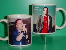 Rob Thomas - Matchbox 20 - with 2 Photos - Designer Collectible Gift Mug
