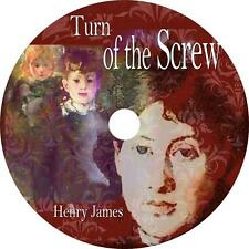 The Turn of the Screw, Henry James Classic Ghost Story Audiobook on 5 Audio CDs