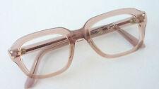 60er Jahre Vintage Children Glasses for Children's Boy's Brown Plastic Size K
