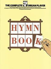 The Complete Organ Player Hymn Book Learn to Play Lyrics Music Book