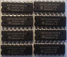 DRAM 64kx1 Dynamic RAM 64k x 1 150ns HM4864P-2 HM4864AP-15 MB8264-15 8 pieces