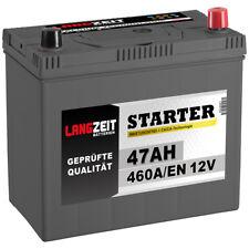 Autobatterie 12V 47Ah 460A/EN Japan Asia + Pluspol rechts Batterie 54723 45Ah