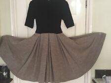 Emilia Wikstead Superb Wool Dress Size 8/10