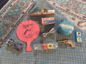 Vintage YOYO KAZOO JARU HOT WHEELS WHOOPY BURGER CHEF RING Toy Lot Of 7 Toys +