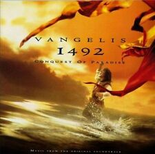 1492: Conquest of Paradise [Music from the Original Soundtrack] by Vangelis (CD,