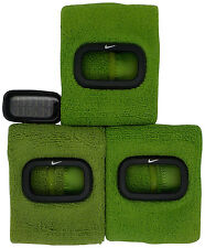 New Nike Cuff 3pc WR0094 906 Altitude Green Fitness Sports Arm Band Watch