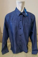"""Adidas Originals para hombre de camisa de mangas largas glzd Top stston Azul Marino Nuevo 51"""" XL"""