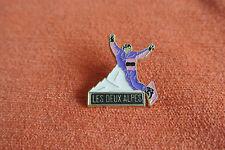 17941 PIN'S PINS FRANCE SAVOIE LES DEUX ALPES SKI SURF - MARTINEAU