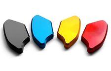 Premium 3D CNC Mirror Block Off Plates 2008 - 2016 Yamaha YZF R6 2010 2011 2012