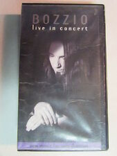 TERRY BOZZIO LIVE IN CONCERT 1998 75 MIN VHS NO DVD FRANK ZAPPA MISSING PERSONS
