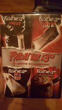 Friday the 13th 4-Movie Collection (DVD 2013 4-Disc Set)