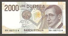 2.000 lire MARCONI serie speciale sostitutiva XB FDS RARA UNC replacement 2000
