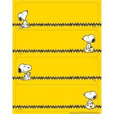 Peanuts Yellow Label Stickers Eureka Eu-656142