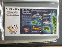 GUERNSEY 1994 25th ANNIV OF GUERNSEY POST OFFICE MINI SHEET FDC FIRST DAY COVER