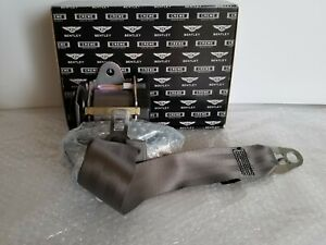 NIB Bentley GT Passenger Front Seat Belt Part # 3W385770B Dark Grey  TM