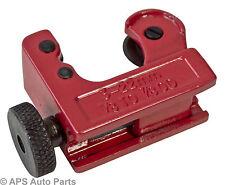 MINI Tubo Cutter Ruota Roller 3 - 22mm RAME OTTONE ALLUMINIO PLASTICA TUBO in PVC