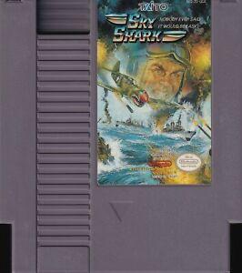 SKY SHARK (1989) nes nintendo taito arcade port classic us NTSC USA IMPORT