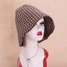 Women Swallow Gird Wool Felt Body Cone Cloche Hood Millinery Hat Block Base B113
