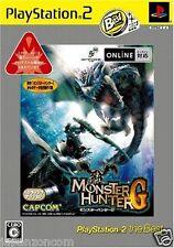 Used PS2  Capcom Monster Hunter G SONY PLAYSTATION JAPAN IMPORT