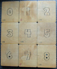 """Accucut Dies 2"""" Number and Punctuation Dies, Chunky Combo, + Free Shipping"""