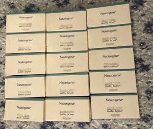 Lot of (15) Neutrogena French Milled Travel Size Bath Soap 1.25oz Bars