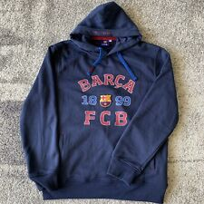 FC Barcelona Football Soccer Sweater Hoodie Mens 2XL