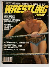 Wrestling Today Magazine Bob Backlund  The Crusher Peggy Patterson