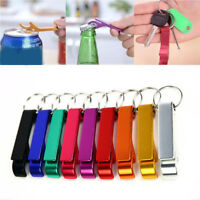 10 Count Bottle Opener Key Chain Ring Alloy Metal Beer Bar Tools Claw 6.5*1.2cm