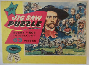 Vintage Jigsaw Puzzle - Custard's Last Stand