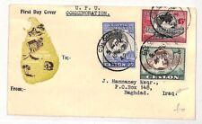 PP141 1949 Ceylon Sri Lanka Iraq Cover {samwells-covers}