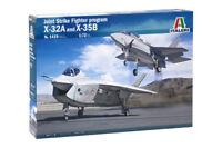 Italeri 1/72 Joint Strike Fighter Program X-32A & X-35B # 1419