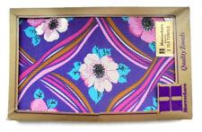 Vintage Horrockses Floral Tea Towels,New Vintage Stock,Original Packaging/Retro