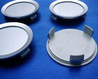 4x Nabenkappen Nabendeckel Felgendeckel 74,5 mm 69,0 mm silber für Merceded AA01