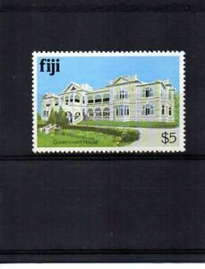Fiji 1979 - $5 Architecture Government House stamp Mint NH - SG 595a