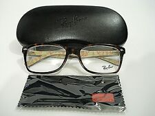 Ray Ban RB5228 RB 5228 5057 Havana Tortoise Eyeglasses Rx-Able Frame 55MM