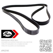 GATES MICRO-V DRIVE BELT V6 L67 SUPERCHARGED 3.8L [HOLDEN VS COMMODORE/STATESMAN