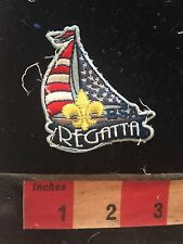 Fun REGATTA Ship Patch (used/recovered from scout vest) C748