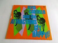 Elvis Costello & The Attractions Get Happy LP 1980 Columbia Vinyl Record