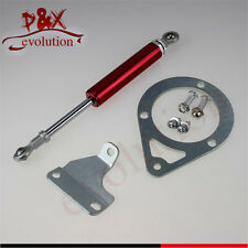 For 89-94 240SX S13 SR20DET KA24DE Engine Torque Damper Brace Mounting Kit Red