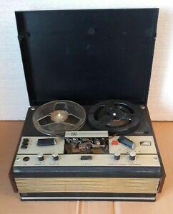 Magnétophone portatif à dévidoir soviétique sur cassette Vintage...