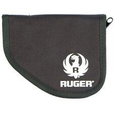Ruger Lcp Compact Pistol Black Nylon Ambidextrous Pocket Holster Zipper Case