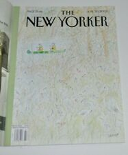 THE NEW YORKER Magazine July 30 2003 Illustrated Cover Sempe