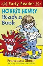 NEW  Early Reader BOOK & CD - HORRID HENRY READS A BOOK Horrid Henry