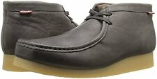 Clarks Stinson Hi Men's Loden Grey Leather  Wallabee Style Boots 26113634