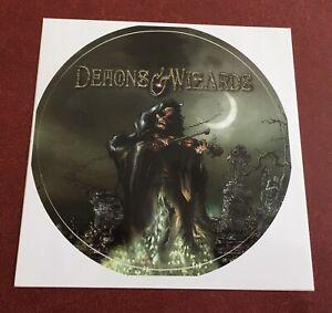 Demons & Wizards Promo Sticker Iced Earth Blind Guardian Jon Schaffer Hansi 2000
