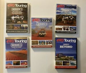 4WD Touring DVDs Seasons 1 To 5