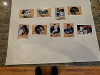 1990 Upper Deck NOLAN RYAN Baseball Heroes 9 Card Set