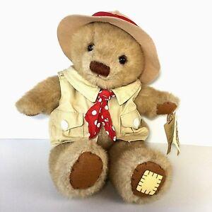 Applause Teddy Tum Tum Safari Amazing Adventures Plush Stuffed Teddy Bear VGC