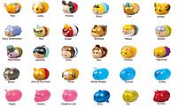 Disney Tsum Tsum Squishies Series 4 Metallic Shine Vinyl Figures - Without Pack