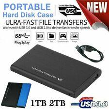 2Tb Usb3.0 External Hard Drive Disks Hdd 2.5' For Pc Desktop Laptop Portable